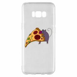 Чехол для Samsung S8+ Love Pizza 2