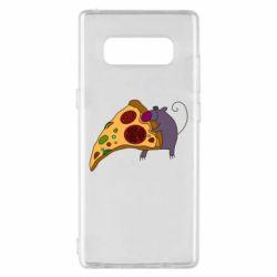 Чехол для Samsung Note 8 Love Pizza 2