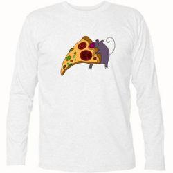 Футболка с длинным рукавом Love Pizza 2
