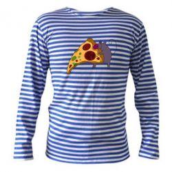 Тельняшка с длинным рукавом Love Pizza 2