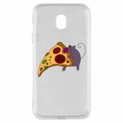 Чехол для Samsung J3 2017 Love Pizza 2
