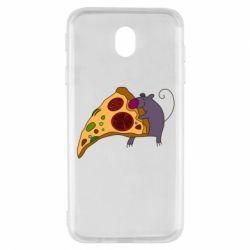 Чехол для Samsung J7 2017 Love Pizza 2