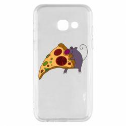 Чехол для Samsung A3 2017 Love Pizza 2