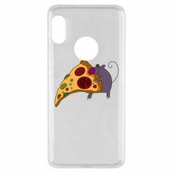 Чехол для Xiaomi Redmi Note 5 Love Pizza 2