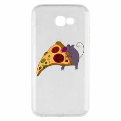 Чехол для Samsung A7 2017 Love Pizza 2