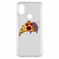 Чехол для Xiaomi Mi A2 Love Pizza 2