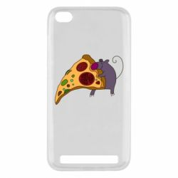 Чехол для Xiaomi Redmi 5a Love Pizza 2