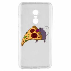 Чехол для Xiaomi Redmi Note 4 Love Pizza 2