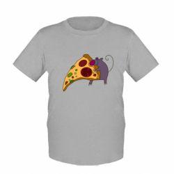 Детская футболка Love Pizza 2 - FatLine