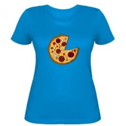 Женская футболка Love Pizza - FatLine