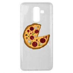 Чохол для Samsung J8 2018 Love Pizza