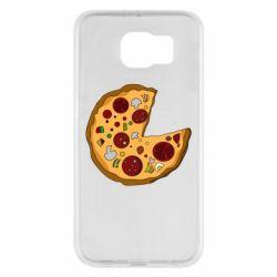 Чохол для Samsung S6 Love Pizza