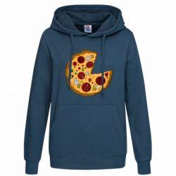 Женская толстовка Love Pizza - FatLine