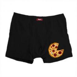 Мужские трусы Love Pizza - FatLine