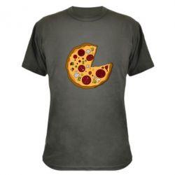 Камуфляжная футболка Love Pizza - FatLine
