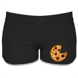 Женские шорты Love Pizza - FatLine