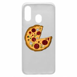 Чохол для Samsung A40 Love Pizza