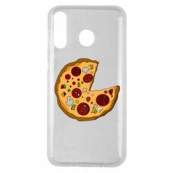 Чохол для Samsung M30 Love Pizza