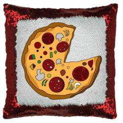 Подушка-хамелеон Love Pizza