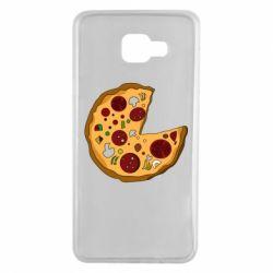 Чохол для Samsung A7 2016 Love Pizza