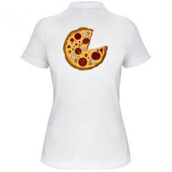 Женская футболка поло Love Pizza
