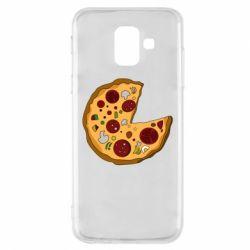 Чохол для Samsung A6 2018 Love Pizza