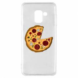 Чохол для Samsung A8 2018 Love Pizza