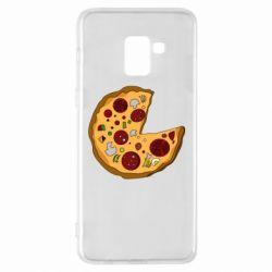 Чохол для Samsung A8+ 2018 Love Pizza