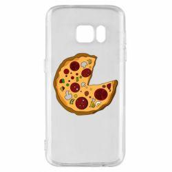 Чохол для Samsung S7 Love Pizza
