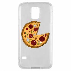Чохол для Samsung S5 Love Pizza