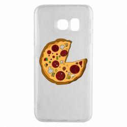 Чохол для Samsung S6 EDGE Love Pizza