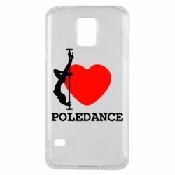 Чохол для Samsung S5 Love Pole Dance