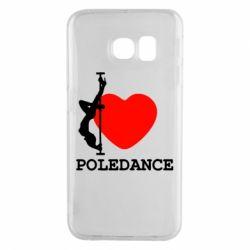 Чохол для Samsung S6 EDGE Love Pole Dance
