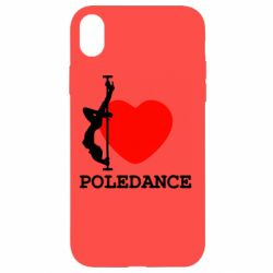 Чохол для iPhone XR Love Pole Dance