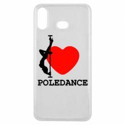 Чохол для Samsung A6s Love Pole Dance