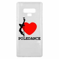 Чохол для Samsung Note 9 Love Pole Dance