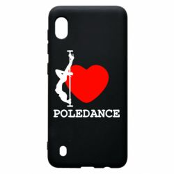 Чохол для Samsung A10 Love Pole Dance