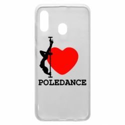 Чохол для Samsung A30 Love Pole Dance