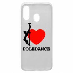 Чохол для Samsung A40 Love Pole Dance