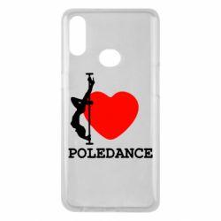 Чохол для Samsung A10s Love Pole Dance