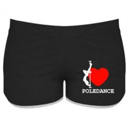 Женские шорты Love Pole Dance - FatLine