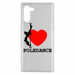 Чохол для Samsung Note 10 Love Pole Dance