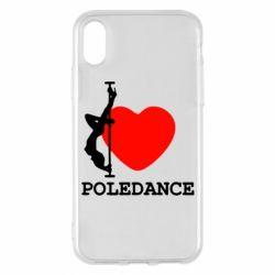 Чохол для iPhone X/Xs Love Pole Dance