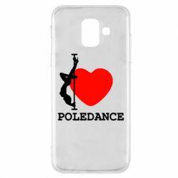 Чохол для Samsung A6 2018 Love Pole Dance