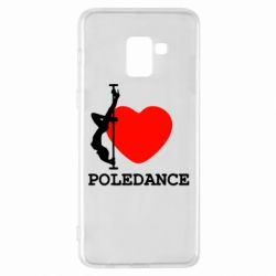 Чохол для Samsung A8+ 2018 Love Pole Dance
