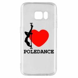 Чохол для Samsung S7 Love Pole Dance