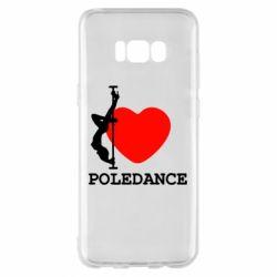 Чохол для Samsung S8+ Love Pole Dance