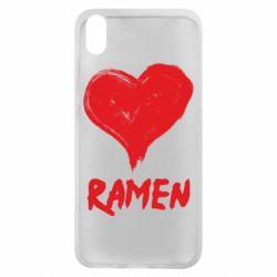Чехол для Xiaomi Redmi 7A Love ramen