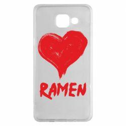 Чохол для Samsung A5 2016 Love ramen