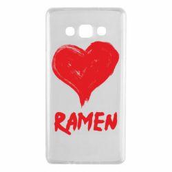 Чохол для Samsung A7 2015 Love ramen